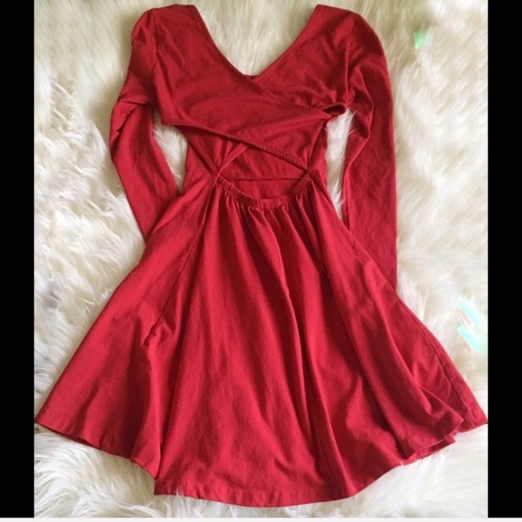 Charlotte Russe Dresses & Skirts - Cute Red Holiday Dress